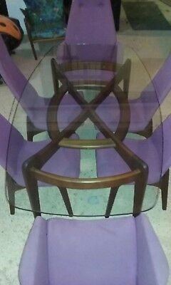 """Adrian Pearsall Craft Assoc. """"Compass""""  Dining Table"""