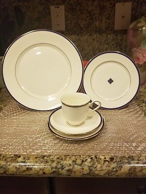 LENOX CHINA  Urban Twilight (1)-5 Piece Place Setting- Excellent Condition