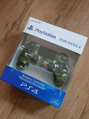 Ps4 controller green camouflage inkl Ovp