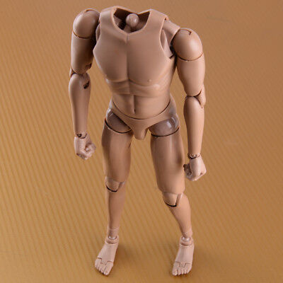 "MX02-A 1/6 Scale Movable Europe Muscular Skin Men's Body for 12""Figure Model Toy"