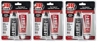 Weld 8281Professional Size Steel Reinforced Epoxy Twin Pack-10 oz(3 Carded Packs