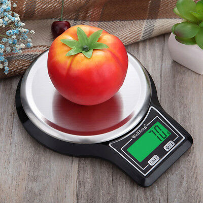 NEW Digital Electronic Kitchen Food Diet Postal Scale Weight Balance G:LB:OZ