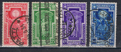 Italy 1933 Holy Year short set to 1.25 lire SG 384-87 Used