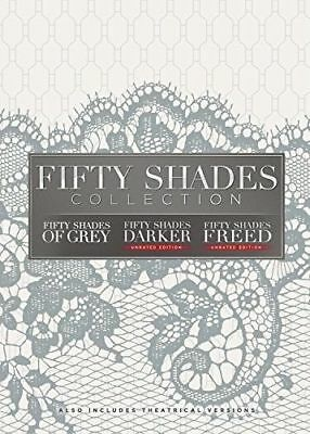 Fifty 50 Shades Freed, Grey & Darker 3 Movie Collection DVD Brand New