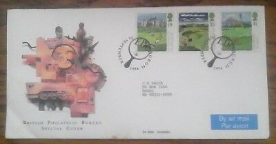British Stamp Cover 1994 Philatelic Bureau Special Cover, multi-franked