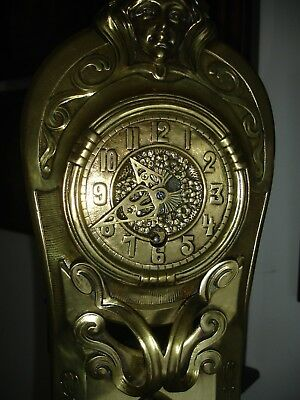 An Art Nouveau Style Mantle Or Table Clock** Movement Stamped Lenzkirch**