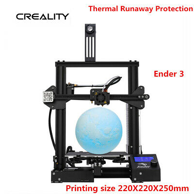Creality Ender 3 3D Drucker 220x220x250mm DC 24V PLA Thermal Runaway Protection