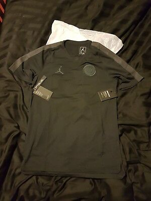 Nike Jordan x PSG DRY Fit Squad Training Top CL Black - Large