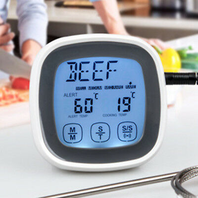 Electronic Cooking Tools Kitchen LCD Digital Cooking Food Probe BBQ Thermometer