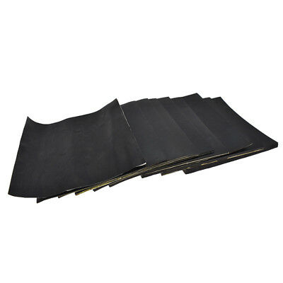 Rubber Self Adhesive Black Thick Soundproof Rubber Car Foam Board Plate Mat