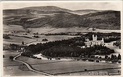 Balmoral Castle and the road to Braemar - In Royal Deeside
