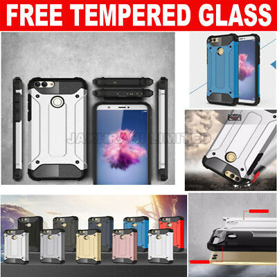 For Huawei P Smart Phone Armor Case Hybrid Heavy duty Shockproof Rugged Cover