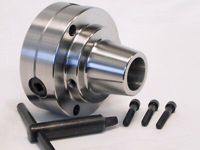 5C Collet Chuck with plain back mounting lathe use Chuck Dia D1-4 Cam Lock Mount