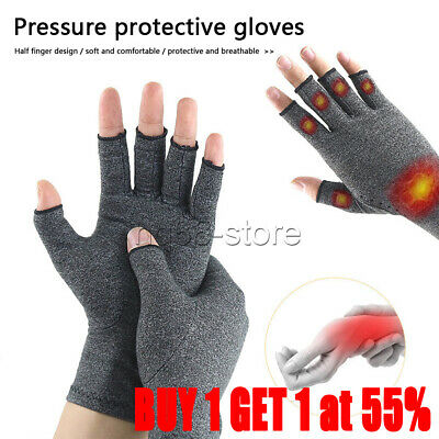Anti Arthritis Gloves Hand Support Pain Relief Arthritis Finger Compression UK