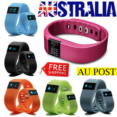 NEW Children Smart Activity Tracker Kids Pedometer Step Counter Fitness Watch AU