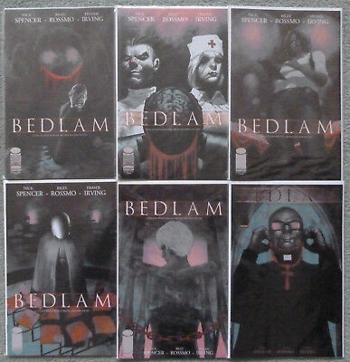 BEDLAM set #1-6 Image NM Nick Spencer Riley Rossmo