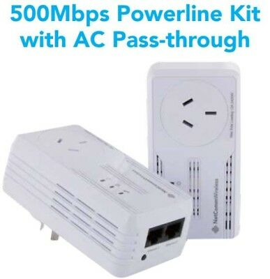 Netcomm NP505F Powerline Adapter 500mbps