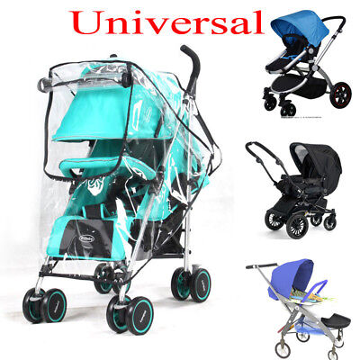 Raincover For Baby Pushchair Stroller Pram Buggy Rain Wind Water Proof Cover Zip