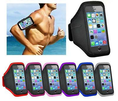 For Huawei Phone Gym Running Jogging Armband Sports Exercise Arm Band Holder