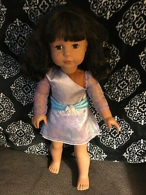 """Gotz 18"""" Doll Pottery Barn Kids African American Collectible"""
