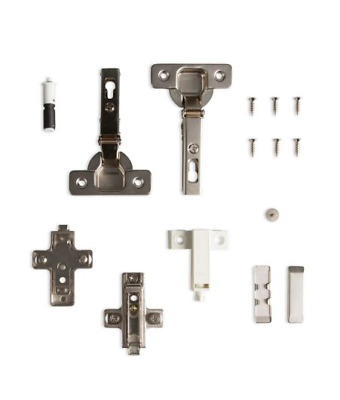 "KITCHEN CABINET DOOR HINGES "" CLIP ON "" SALICE ""PUSH TO OPEN"" - PACK A+ 20x PAIR"
