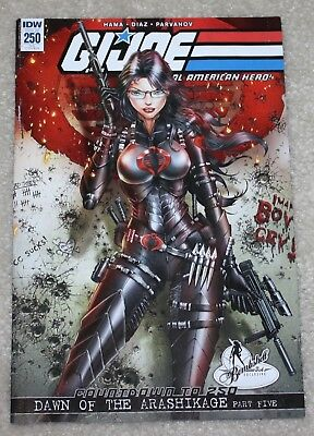 G.i. Joe 250 Jamie Tyndall Baroness Convention Exclusive Variant 800 Print Run!
