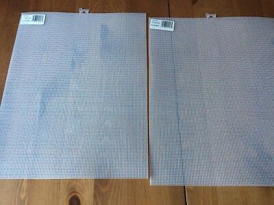 2 Sheets Of 10 Count Plastic Canvas