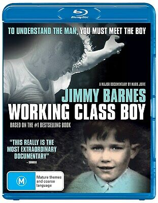 Jimmy Barnes Working Class Boy Blu-ray Region B NEW