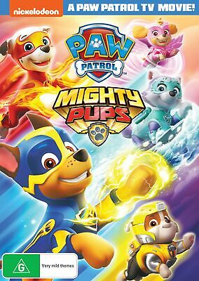 Paw Patrol Mighty Pups DVD Region 4 NEW