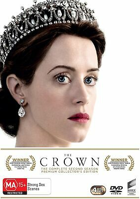 The Crown Season 2 Box Set With Special Packaging DVD Region 4 NEW