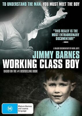 Jimmy Barnes Working Class Boy DVD Region 4 NEW