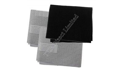 UNIVERSAL Cooker Hood Filter Extractor Vent Fan Odour + Grease Carbon Filters