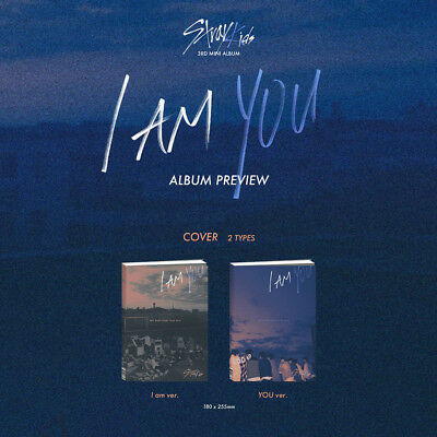 [STRAY KIDS]3rd mini album/I AM YOU/2 Albums Set/Only Albums/New, Sealed