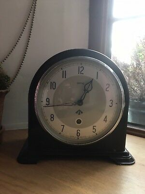 Smiths enfield Military Mantle Clock Bakelite