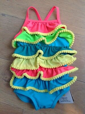 M&S Baby Girl's Swimsuit Age 6-9 Months BNWT RRP £12