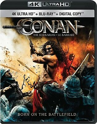 Conan the Barbarian [4K+Blu-ray] New and Factory Sealed!!
