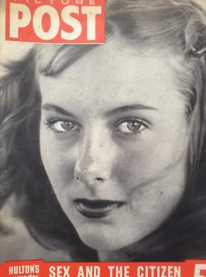 PICTURE POST MAGAZINES 5 COMPLETE RETRO FROM 1930s 1940s 1950s VINTAGE ANTIQUE