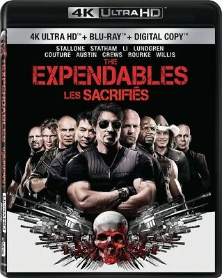 The Expendables [4K+Blu-ray] New and Factory Sealed!!