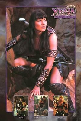 Xena: Warrior Princess Lucy Lawless 1998 TV Show Poster 24x36