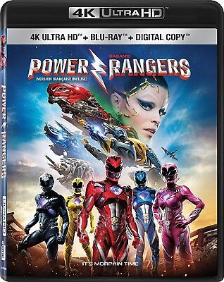 Saban's Power Rangers [4K+Blu-ray] New and Factory Sealed!!