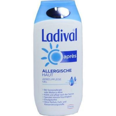 LADIVAL allergische Haut Apres Gel 200 ml PZN: 3374356