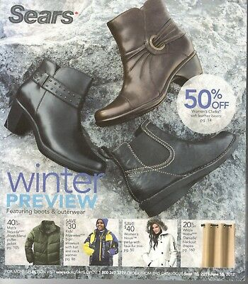 Sears Canada 2011 Winter Preview Catalogue