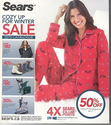 Sears Canada 2010 Cozy Up For Winter Catalogue