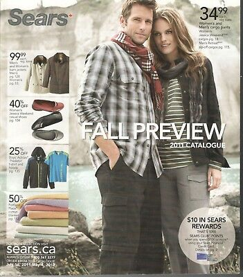 Sears Canada 2011 Fall Preview Catalogue