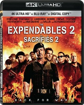 The Expendables 2 [4K+Blu-ray] New and Factory Sealed!!