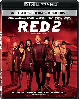 Red 2 [4K+Blu-ray] New and Factory Sealed!!