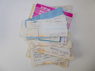 "Sncf - Lot De 157 Tickets "" Specimen "" -"