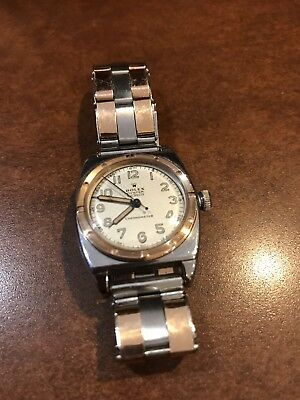 ROLEX OYSTER CHRONOMETER Viceroy Watch 3359 Cal 10 1/2N 1940\u0027s Vintage