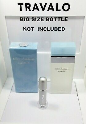 1be47fb6 Travel Atomizer 5Ml(65Spry)Filled With Dolce&Gabbana Light Blue Women  Parfum Edt