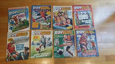 VINTAGE ROY OF THE ROVERS COMICS - 16 editions from 1987 various dates